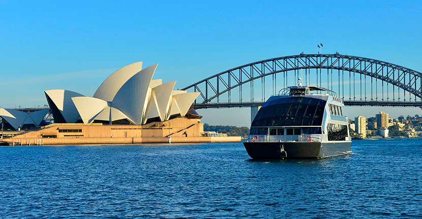 Sydney Wedding Cruise